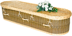 Wicker-felt-wool-material-coffins