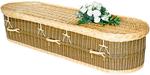 Wicker-felt-wool-material-coffins