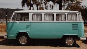 Volkswagen-Campervan