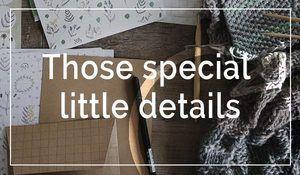 those-special-details